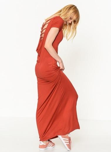 Sırt Dekolteli  Elbise-Only